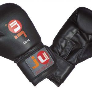 Боксерские перчатки для начинающих черные