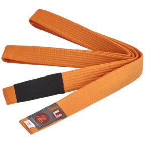 BJJ пояс для детей, оранжевый