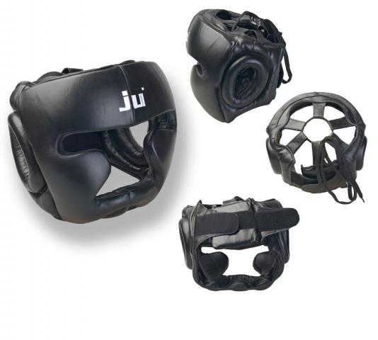 ШЛЕМ HEAD PROTECTION CHIN BLACK