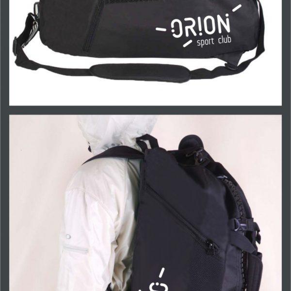 Спортивная сумка (рюкзак)_ORION_sport_club